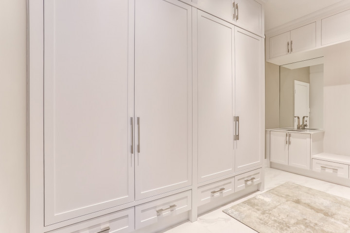 Closet Space in New Built Homes