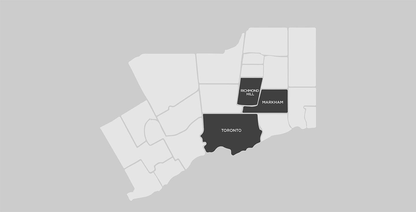 New Homes in the Greater Toronto Area