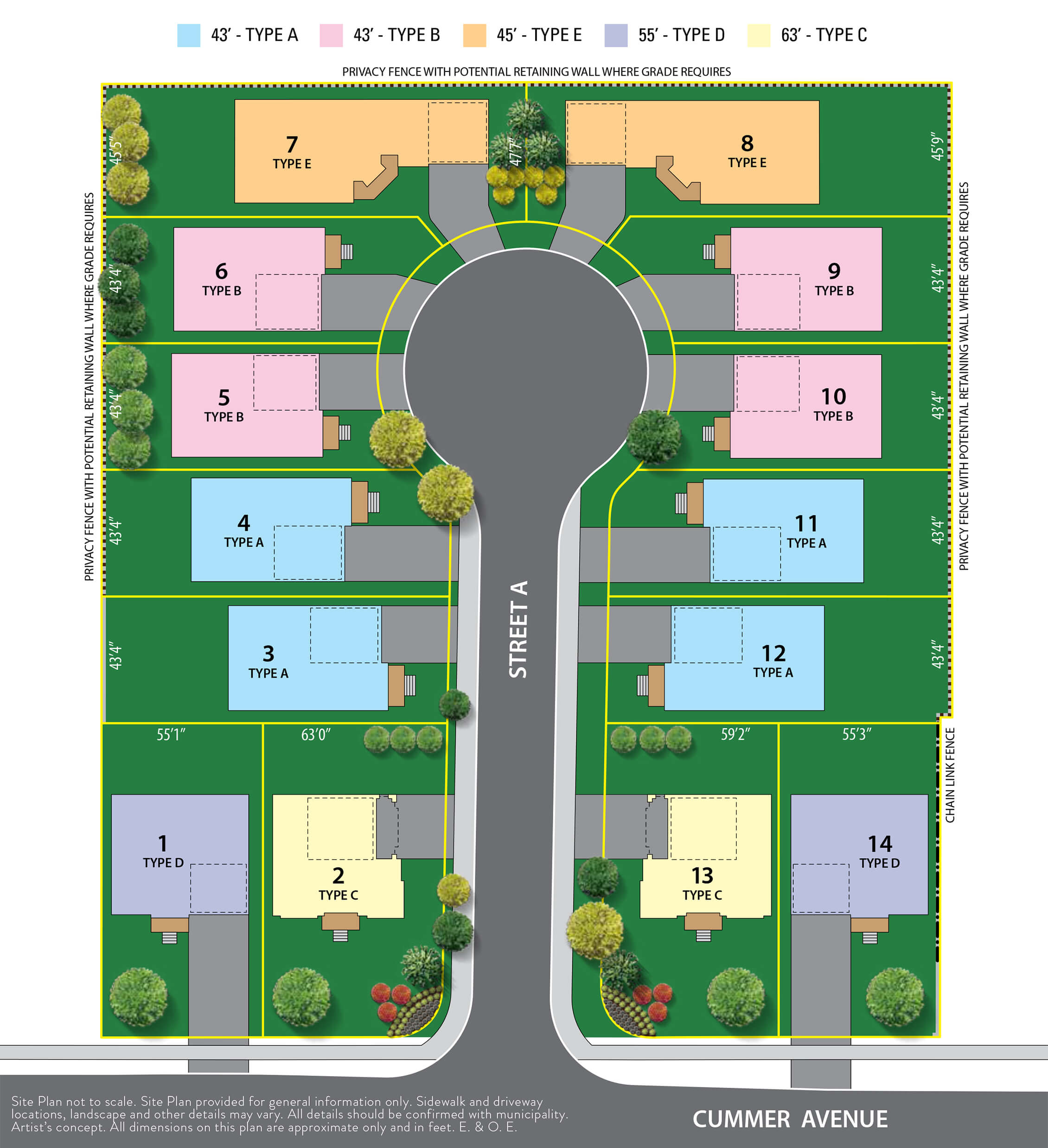 Willowdale Heights Siteplan in North York