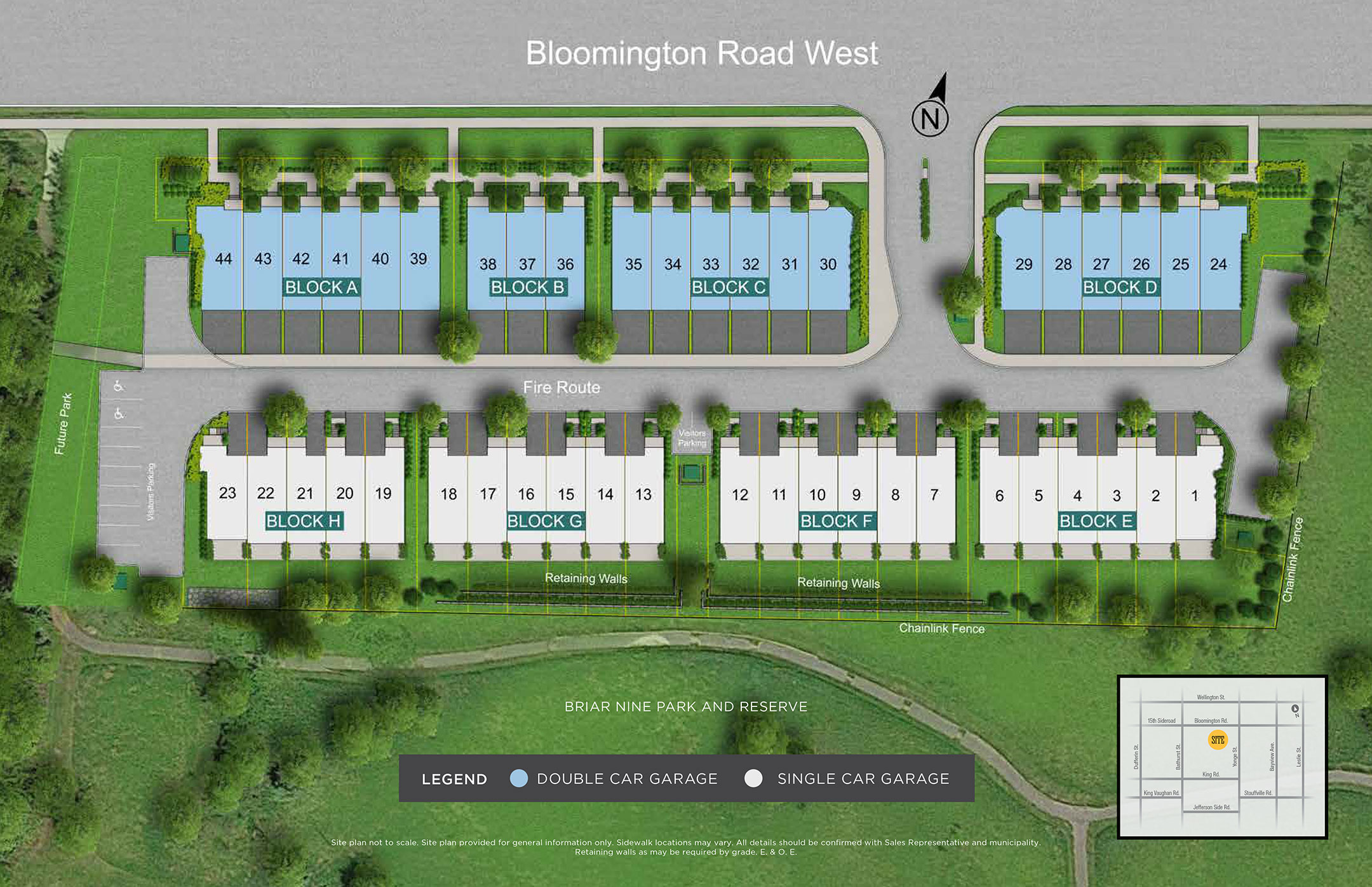 Royal Richmond Siteplan in Richmond Hill